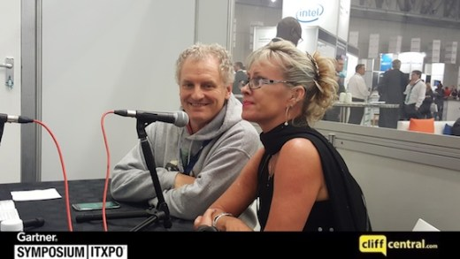 Mary Ann Francis & Gilles Gravier – Gartner Symposium/ITxpo 2016