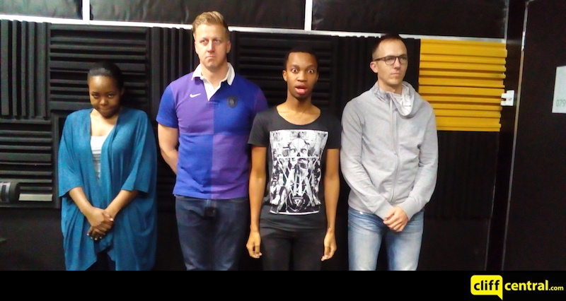 Gareth Cliff and team