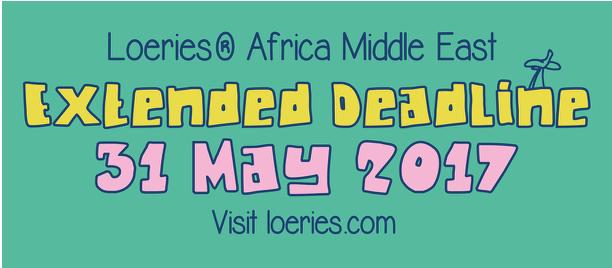 Loeries Extended deadline image