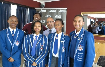 Youth Leadership Platform – Sponsored by Sibanye: Innovative Solutions at Randfontein High