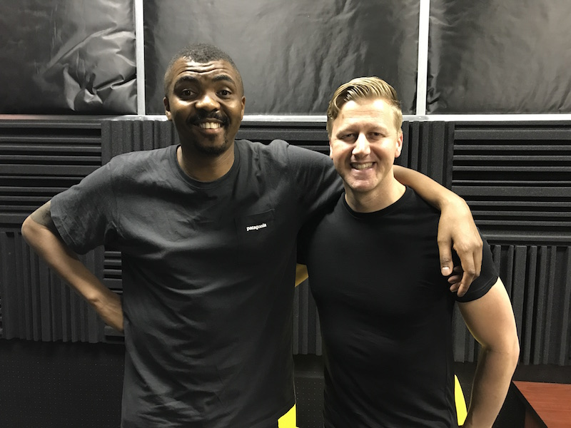 Loyiso Gola with Gareth