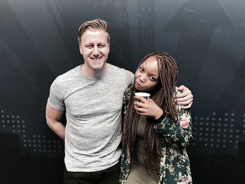 Thembisa Mdoda, older sister of Anele Mdoda, joins Gareth in studio to talk about her amazing journey in stage, screen and broadcasting.