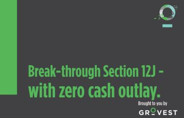 The Section 12J Show: Break-through Section 12J with zero cash outlay