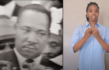 Blind History: Martin Luther King, Jr – Sign Language (SASL)