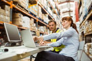 Real time data for stock levels with automatic replenishment orders.