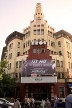 Eros theatre Bollywood cinema hall of Hindi and English movie, Churchgate,
