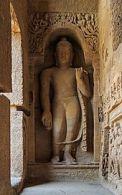 Buddha Statue at Kanheri Caves