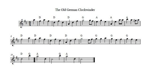 The Old German Clockwinder