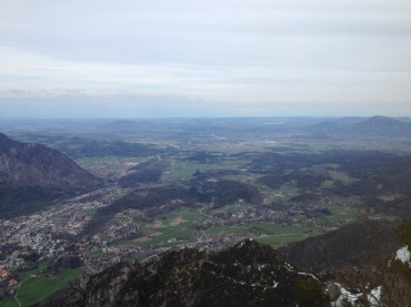 You can see Salzburg from here :O
