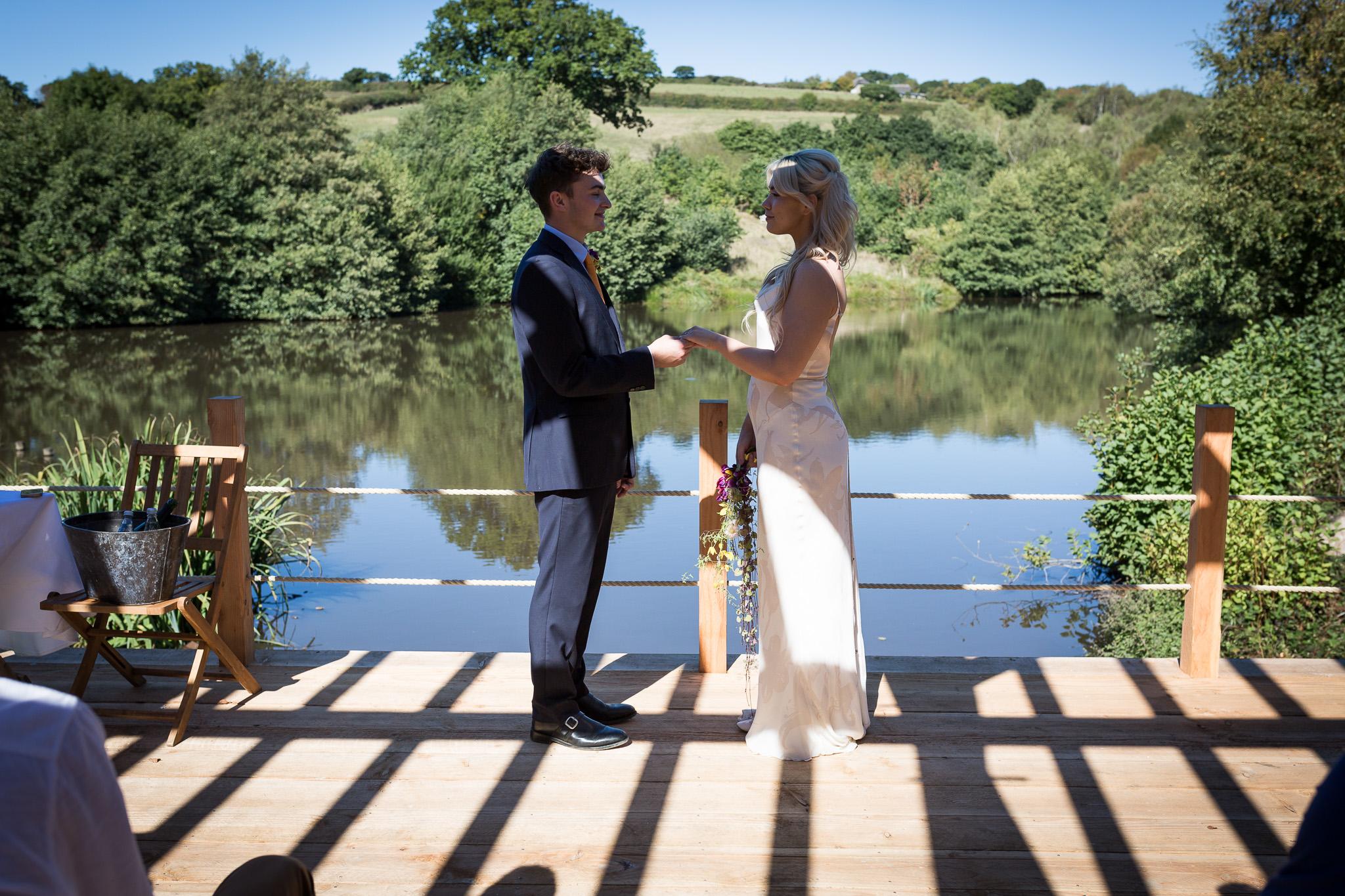 Bridesmere Bridge Wedding Vows