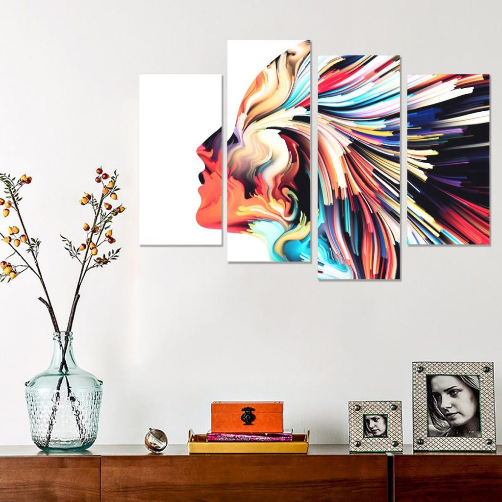 abstract wall art canvas paintings