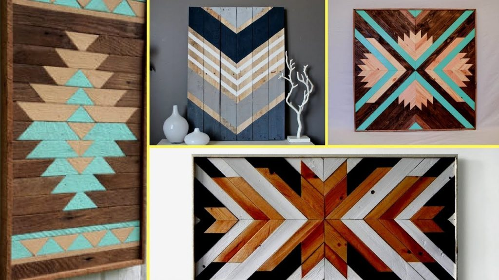 reclaimed wood art decor ideas