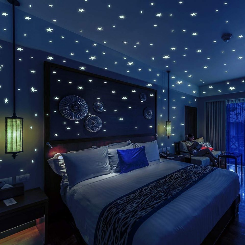 stars wall stickers for kids bedroom and room ceiling