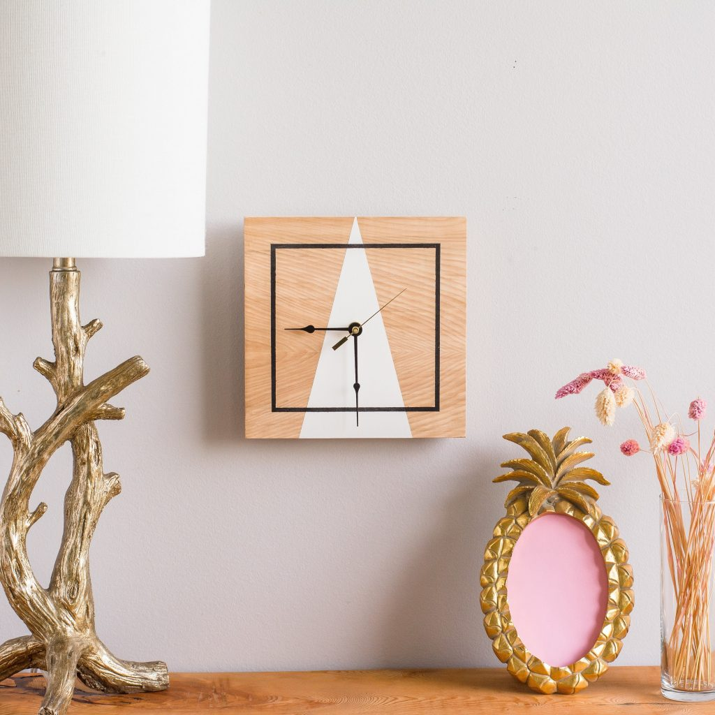 unique wooden handmade wall clock
