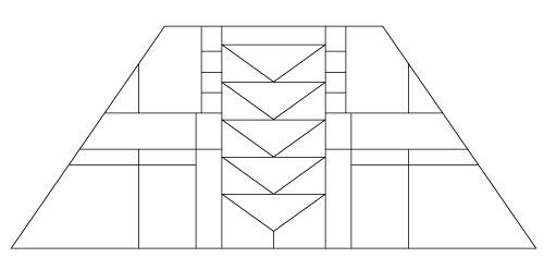 "5201 12"" x 18"" Prairie Lampshade pattern"