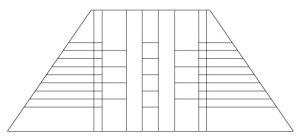 "5206 12"" x 18"" Prairie Lampshade pattern"