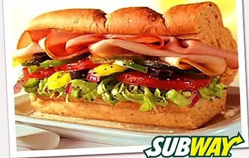 Subway Sub Sandwich