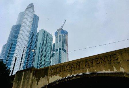 Chicago Michigan Avenue Bridge