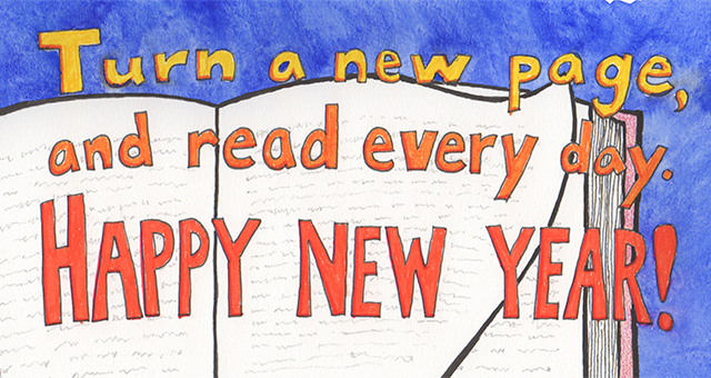 Image result for happy new year reading