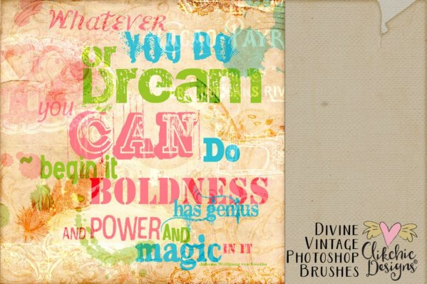 Divine Vintage Photoshop Brushes