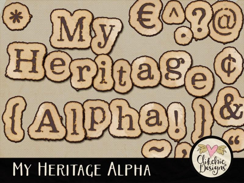 My Heritage Digital Scrapbook Alpha