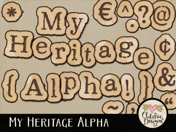 My Heritage Digital Scrapbook Alpha