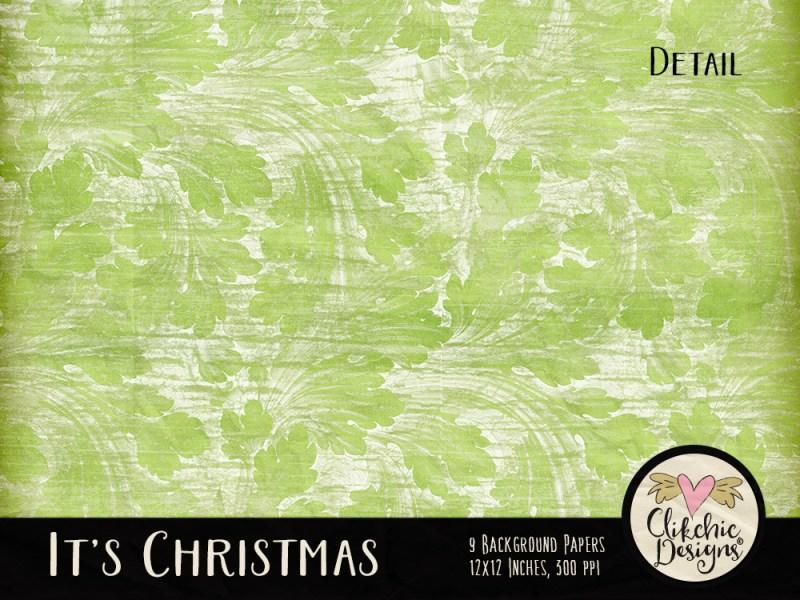 It's Christmas Digital Scrapbook Kit