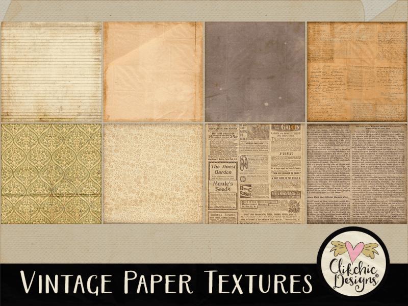 Vintage Paper Background Textures