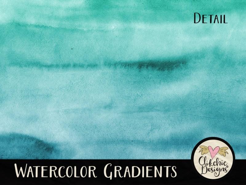 Watercolor Gradients Background Textures