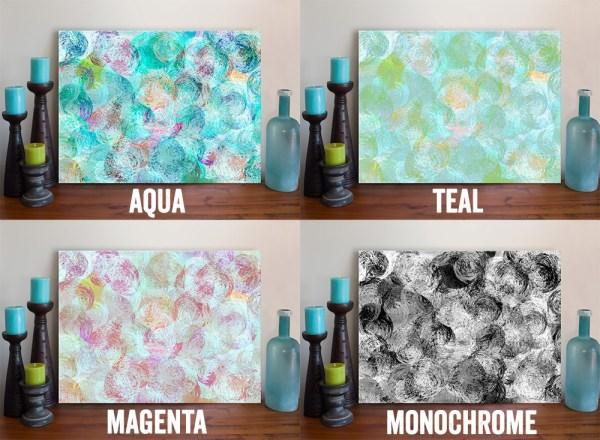 Dimensions Canvas Art Print Choices