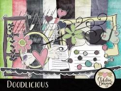 Doodlicious Digital Scrapbook KIt