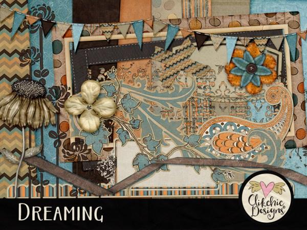 Dreaming Digital Scrapbook Kit