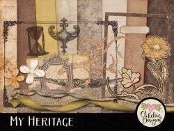 My Heritage Digital Scrapbook Kit
