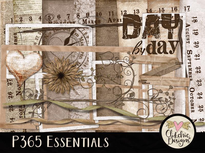 P365 Essentials Digital Scrapbook Kit