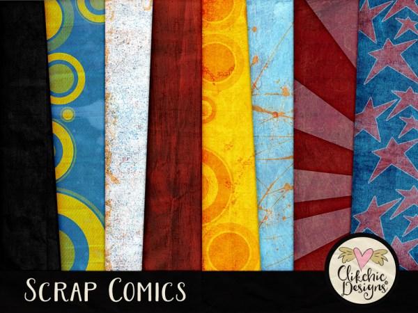 Scrap Comics Digital Scrapbook Kit