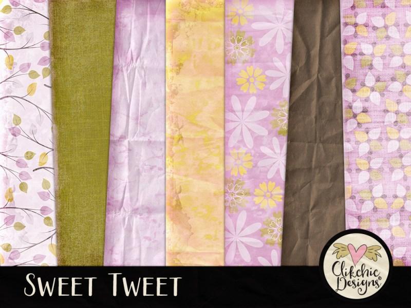 Sweet Tweet Digital Scrapbook Kit