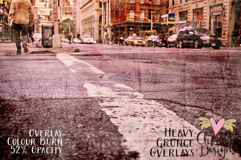 Heavy Grunge Texture Overlays