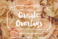 Ornate Overlays Transparent Textures