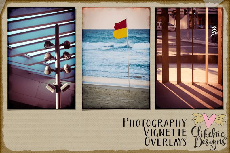 Photography Vignette Overlay Frames