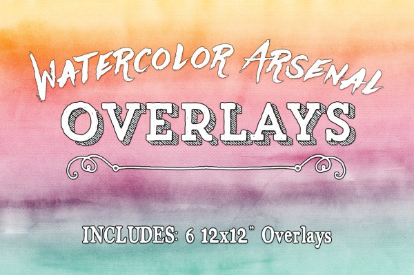 Watercolor Arsenal Overlays