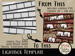 Lightbox Layered Template