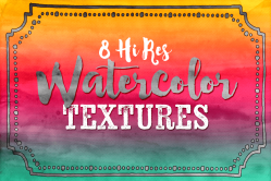 High Resolution Watercolor Textures