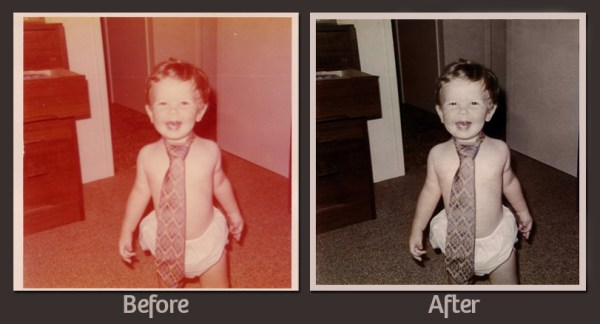 In Tie - Before and After