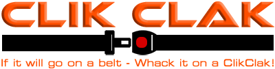 ClikClak | Innovative belts for tools and accessories