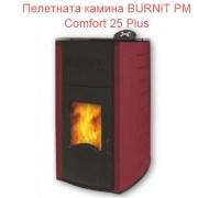 Пелетнaта каминa BURNiT PM Comfort 25 Plus