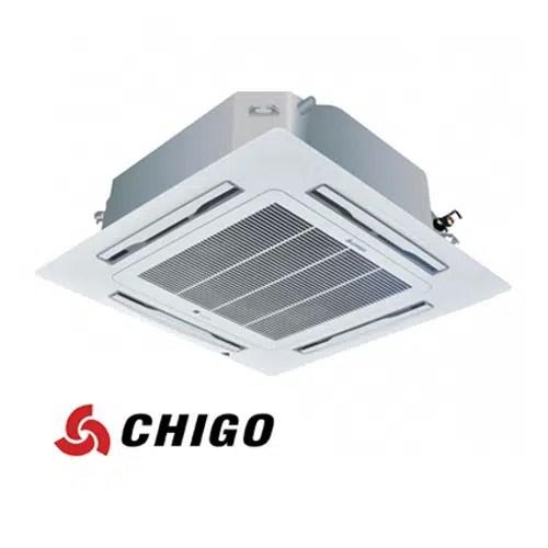 Инверторен климатик Chigo касетен тип CCB-18HVR1 на ВИП цена от Clima.VIP