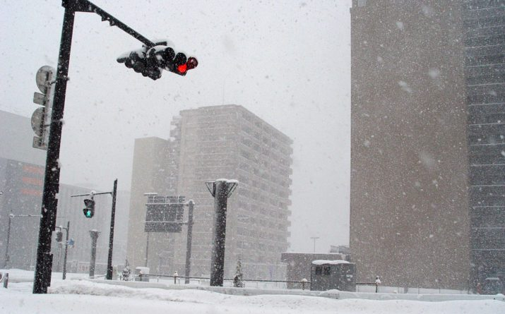 Global warming might be behind the colder winters