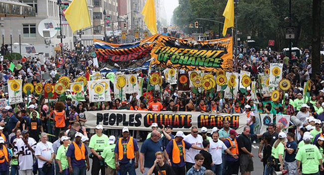 Was the largest climate march ever just a pro-capitalist ploy?