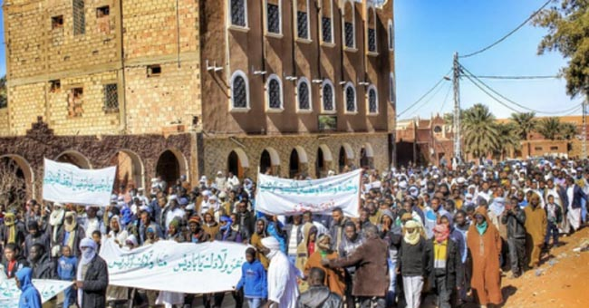 Algeria: Protests challenge shale gas plans