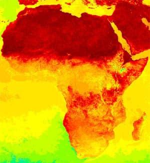Africa burn